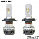 Matrix LED set H4 BiLED 5000K-5000lm 30 Watt 12-24 Volt voor auto met en zonder CAN-bus