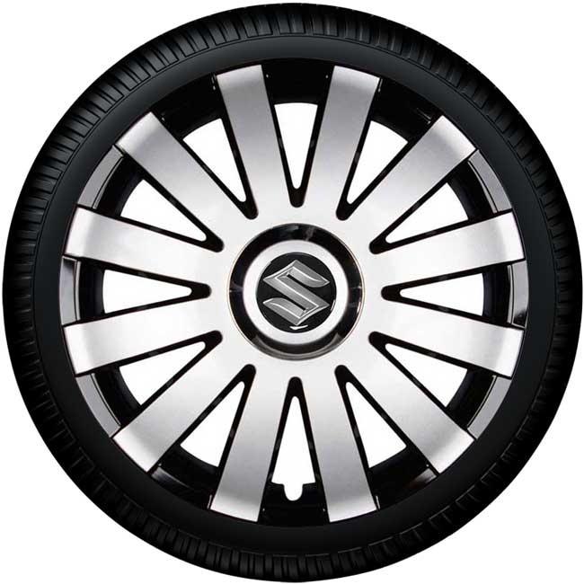 https://www.concept-s.nl/mwa/image/zoom/CW300444-SUZUKI-Wieldoppen-SUN-SB-zilver-zwart-met-chroom-ring-14-inch-met-band.jpg